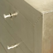 White Metal Bedside Chest (3)