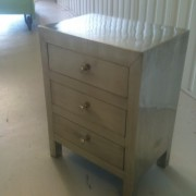 White Metal Bedside Chest (4)