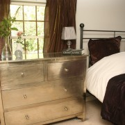 White Metal Chest of Drawers (2)
