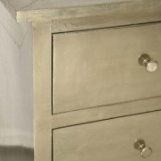 White Metal Chest of Drawers (4)