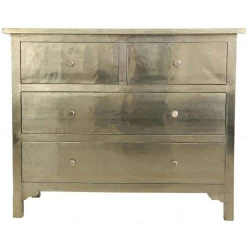 White Metal Chest of Drawers 2