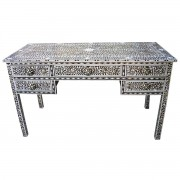 Black Mother of Pearl Inlay Desk