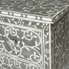 Charcoal Mother of Pearl Two Drawer Chest 2