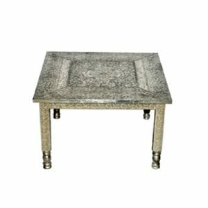 Embossed-White-Metal-Coffee-Table-new1