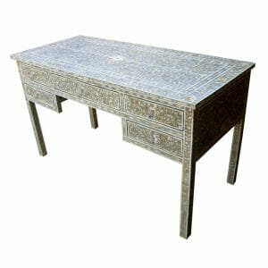 Grey Mother of Pearl Inlay Desk 1
