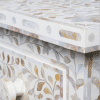 White Mother of Pearl Dressing Table 3