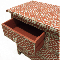 CLEAN Terracotta semi-geo mother of pearl inlay chest 02