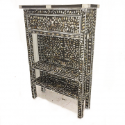 COMPLETE Grey Mother of Pearl console unit 01